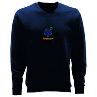 Adult V-Neck Sweatshirt - Broadmayne First School Thumbnail